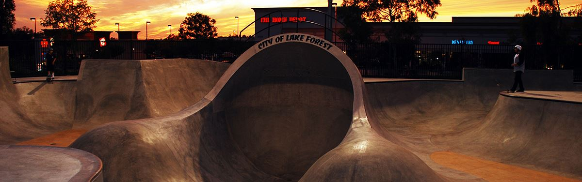 SkateparkSunset photo Nick Gates